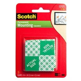 """Mounting Squares -1"""" x 1"""""""