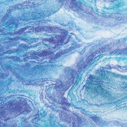 "Light Blue Water Gossamer, 19"" wide"