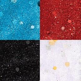"Disco Dot Glitter Tulle, 54"" x 20 yards"