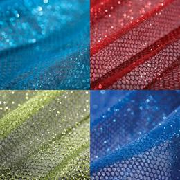 "Glitter Fabric, 54"" x 40 yards"