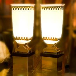 Glimmer and Gleam Pedestal Lamps Kit (set of 2)