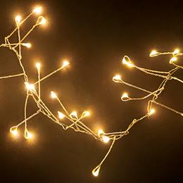 Warm White Firecracker Light String