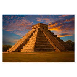 Chichen Itza Photo Mural