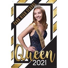 Prom Queen Photo Banner
