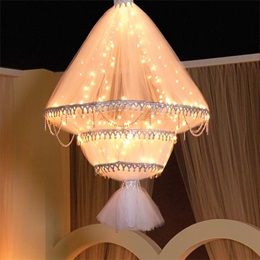 6 ft. The Ceiling Has Eyes Chandelier Kit