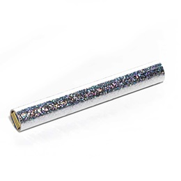 6 in. Silver Holographic Confetti Wand