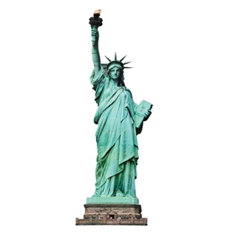 Statue of Liberty Cutout