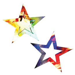 10.5 in. Metallic Double Stars