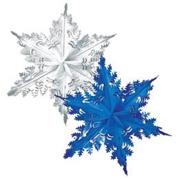 Metallic Snowflakes