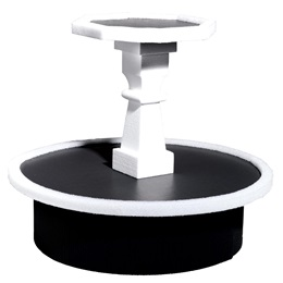 Black and White Candy Stand