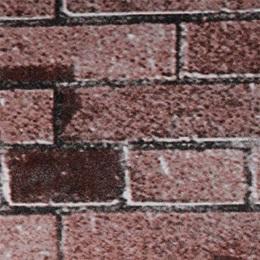 Terra Cotta Brick Corrugated Patterned Paper