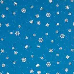Winter Flakes Flat Patterned Paper