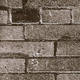 Brown Brick Flat Patterned Paper