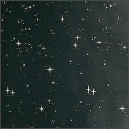 Black Starflakes Flat Paper