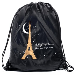 Full-color Custom Backpack - Golden Paris Night