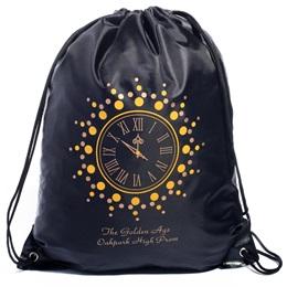 Golden Clock Full-color Custom Backpack