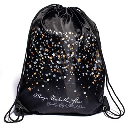 Star Confetti Full-color Custom Backpack