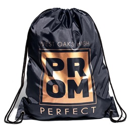 Full-color Backpack - Gold Prom Square