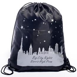 Violet Skyline Full-color Custom Backpack