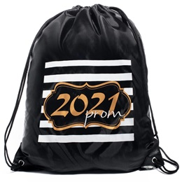 Full-color Backpack - Gold Glitter Prom 2021