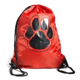 Paw Backpack – Red/Black