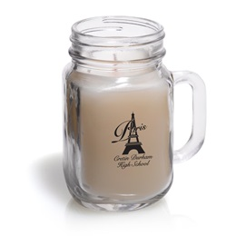 Mason Jar Candle - One-color Imprint