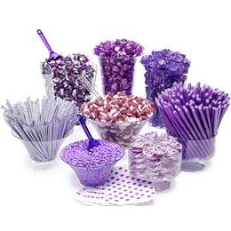 Candy Buffet Kit - Purple