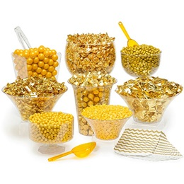 Candy Buffet Kit - Gold