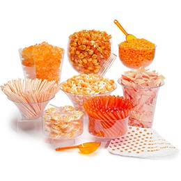 Candy Buffet Kit - Orange