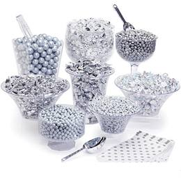 Candy Buffet Kit - Silver