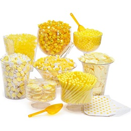 Candy Buffet Kit - Yellow