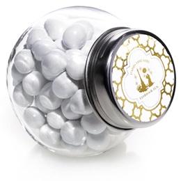 Metallic Foil Candy Jar - Moroccan