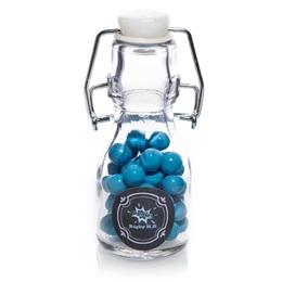 Custom Mini Glass Bottle - Chalkboard Label