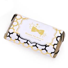 Metallic Foil Mini Candy Bar Wrapper - Moroccan