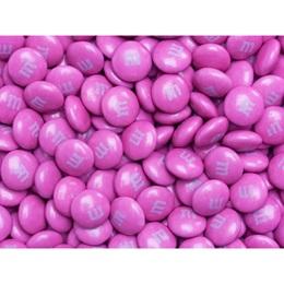 Dark Pink M&M's® Milk Chocolate Candy - 5 lbs.