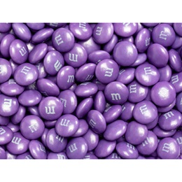 Purple M&M's® Milk Chocolate Candy - 5 lbs.
