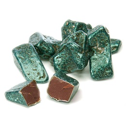 Chocolate Emerald Gemstone Candies