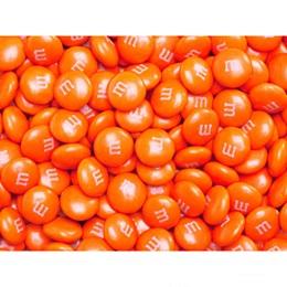 Orange M&M's® Milk Chocolate Candy - 2 lbs.