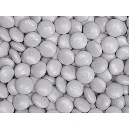 Silver Shimmer M&M's® Milk Chocolate Candy - 2 lbs.