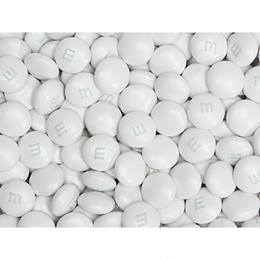 White Shimmer M&M's® Milk Chocolate Candy - 2 lbs.