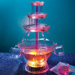 Light-Up Party Fountain with Cups