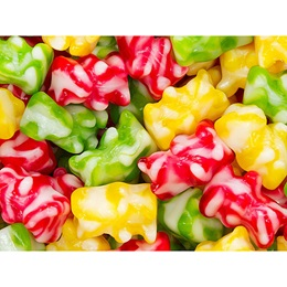 Swirled Gummy Bears