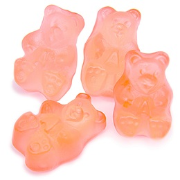 Gummy Bears - Pink Grapefruit