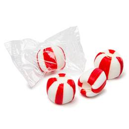 Meltaway Crumble Candies - Red and White