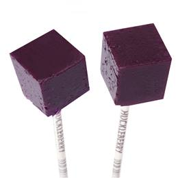 Cube Lollipops - Purple