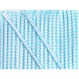 Candy Powder-filled Straws - Blue Raspberry