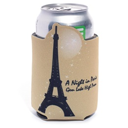 Cozy Can Cooler - Golden Paris Night