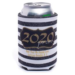 Cozy Can Cooler - Gold Glitter Prom 2020