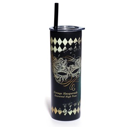Slim and Sleek Travel Tumbler  Kit - Gilded Masquerade