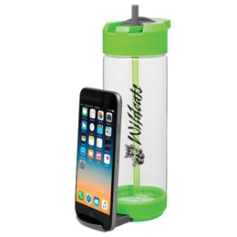 Water Bottle With Phone Holder